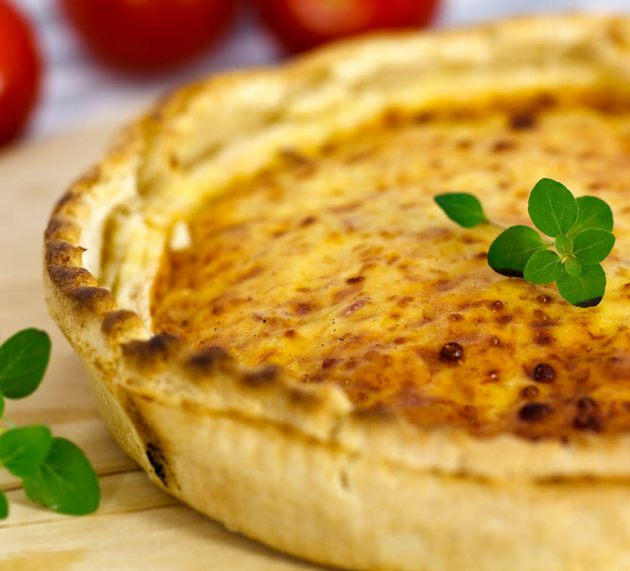 Recept på klassisk Fransk Lökpaj