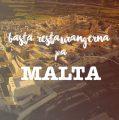Bästa Restaurangerna på Malta
